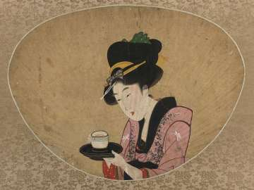 Young Woman from a Tea Shop