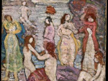 Eight Bathers