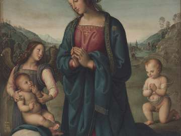 The Virgin and the Infant Baptist Adoring the Child Christ