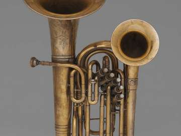 Double-belled euphonium