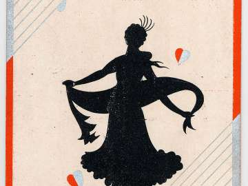 New Year's Card: Dancer