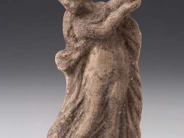 Statuette of a woman dancing