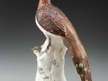 Figure of a Peacock