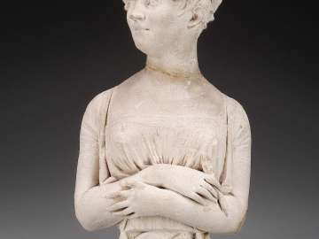 Portrait bust of a Woman Artist