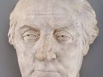Life-mask of George Washington
