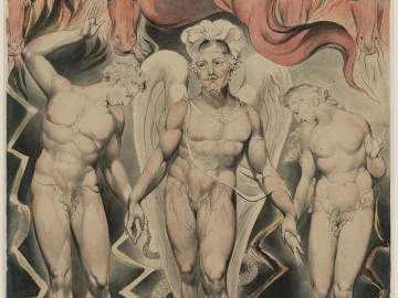 The Expulsion from Eden (Illustration to Milton's