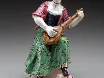 Figure of a musician