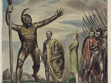 Goliath Cursing David (I Samuel XVII, 43–44)