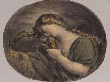 Juliet Asleep (Illustration to Shakespeare)