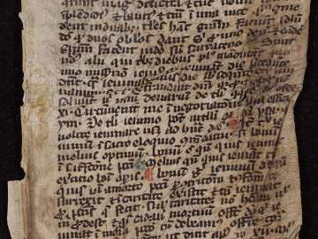 Leaf of Grammatical Text