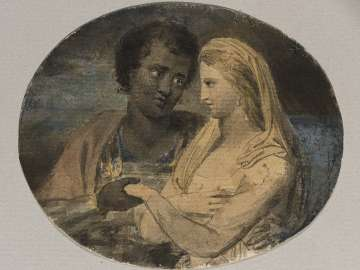 Othello and Desdemona (Illustrations to Shakespeare)