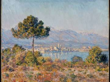 Antibes Seen from the Plateau Notre-Dame