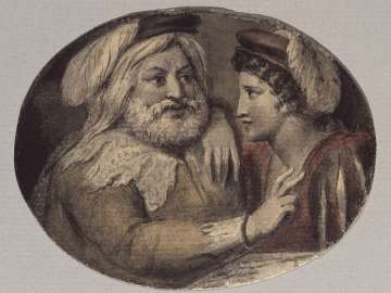 Falstaff and Prince Hal (Illustrations to Shakespeare)