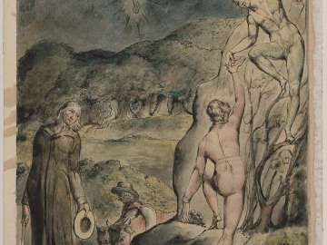 The Brothers Plucking Grapes (Illustration to Milton's