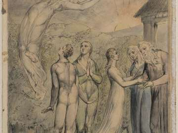 The Lady Restored to Her Parents (Illustration to Milton's