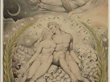 Satan Watching the Caresses of Adam and Eve (Illustration to Milton's