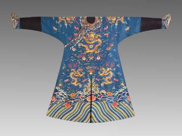 Man's semi-formal court robe (longpao)