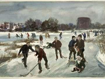 Winter, East Boston