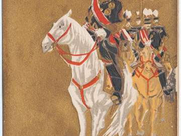 Japanese Generals on Horseback