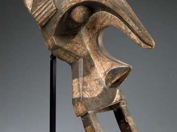 Head crest in elephant form (ogbodo enyi)