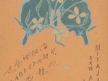 Butterfly  with Flower Motifs