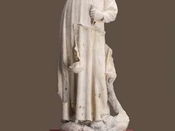 Saint Michael Weighing Souls