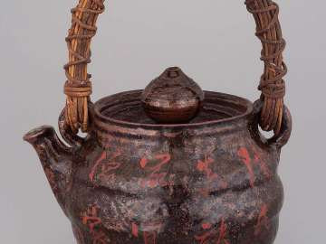 Water vessel, large, in form of tea pot