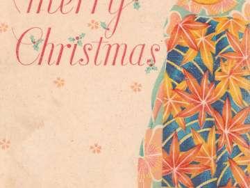 Christmas Card: Advertisement for Cabaret Kabuki