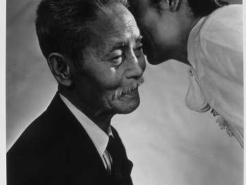 Yukio Ozaki (with granddaughter)