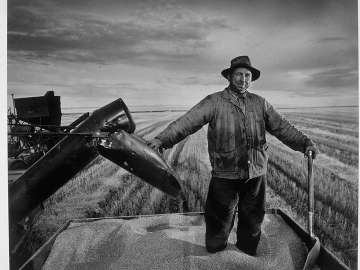 Prairie Wheat Farmer, Regina (horizontal)
