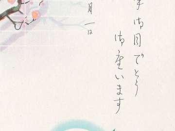 New Year's Card: Snow Rabbit