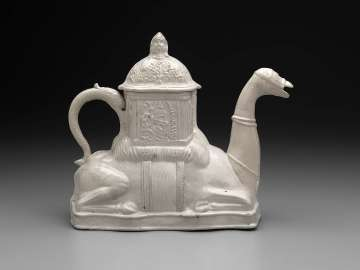 Teapot in the form of a camel