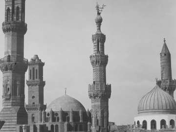 Minarets on Mosque