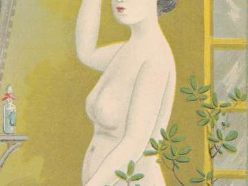 Female Nude by the Window (from an unidentified series)