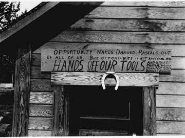 Bob Reeve's Tool House, Valdez, Alaska