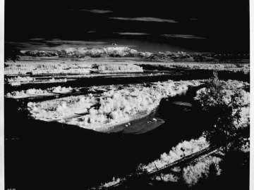 Mt. McKinley from Talkeetna (infrared), Alaska, 1951