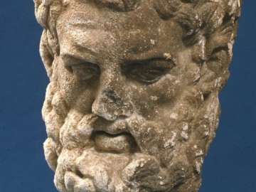 Head of Herakles, after Lysippos