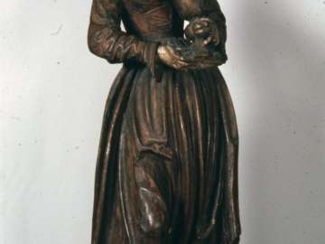 Figure of Saint Barbara