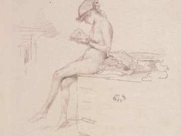 The Little Nude Model, Reading