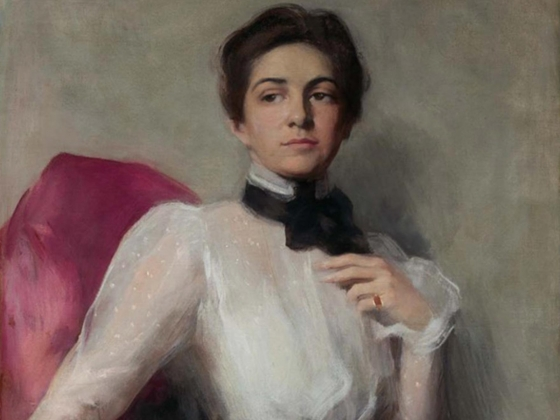 """Adelaide Cole Chase, """"Elizabeth Lawrence Fiske (Mrs. George Hitchcock)"""", about 1900"""