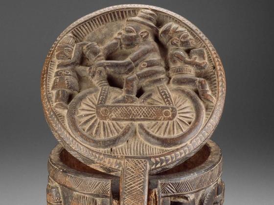Arowogun (Areogun) of Osi-Ilorin, Diviner's Bowl (opon igedeu), no date