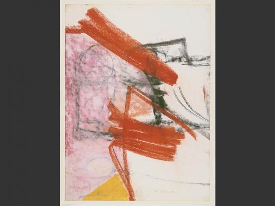 Willem de Kooning, Untitled, 1956-58