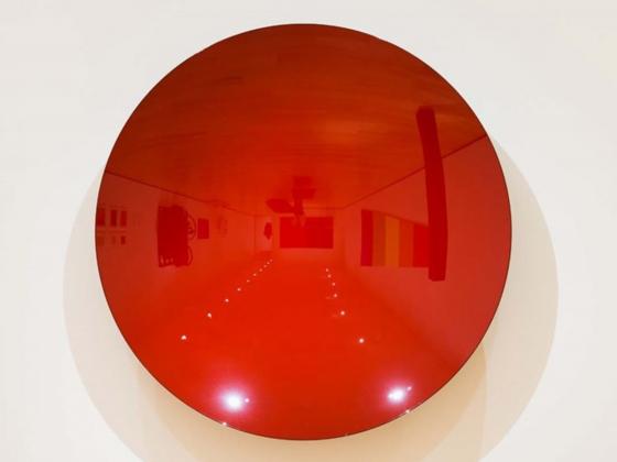 Anish Kapoor, Untitled (Shu-red), 2007