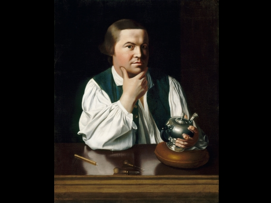 John Singleton Copley, Paul Revere, 1768
