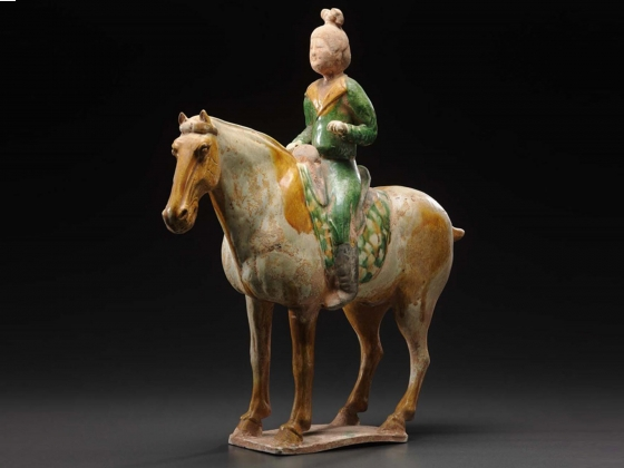 Horse with Female Rider. First half of 18th century.