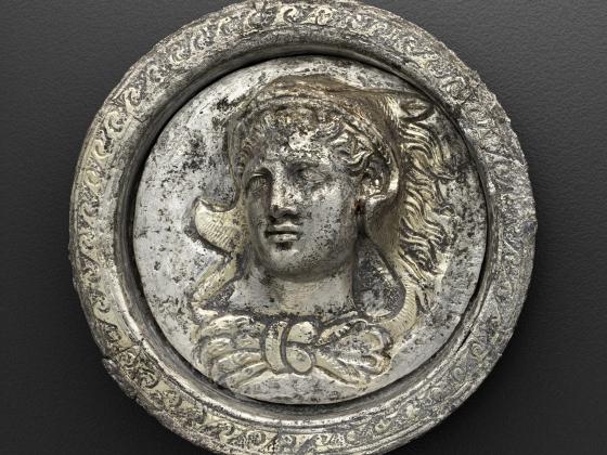 Medallic plaque, About 150 B.C.