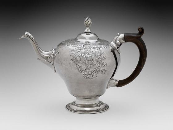 Paul Revere, Jr., Teapot, about 1770