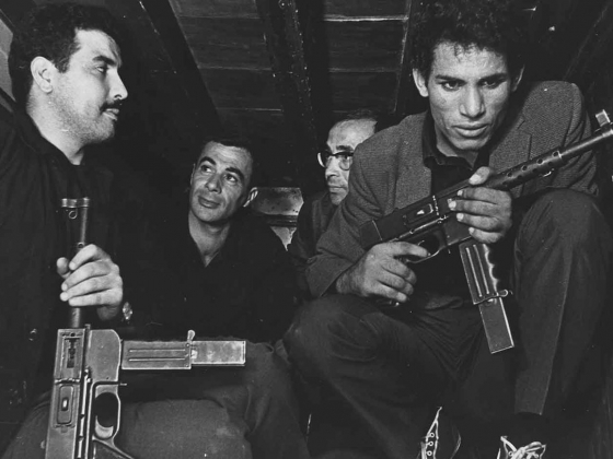 Film Still from Battle of Algiers
