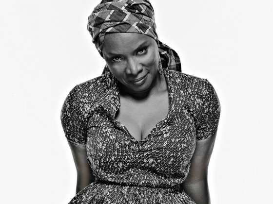 Photograph of Angelique Kidjo