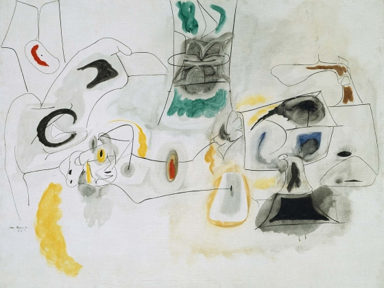 Arshile Gorky (Vosdanik Manoog Adoian), Good Hope Road, 1945